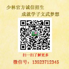 s少林寺武僧团微信二维码